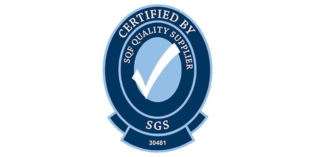 SQF認証を取得